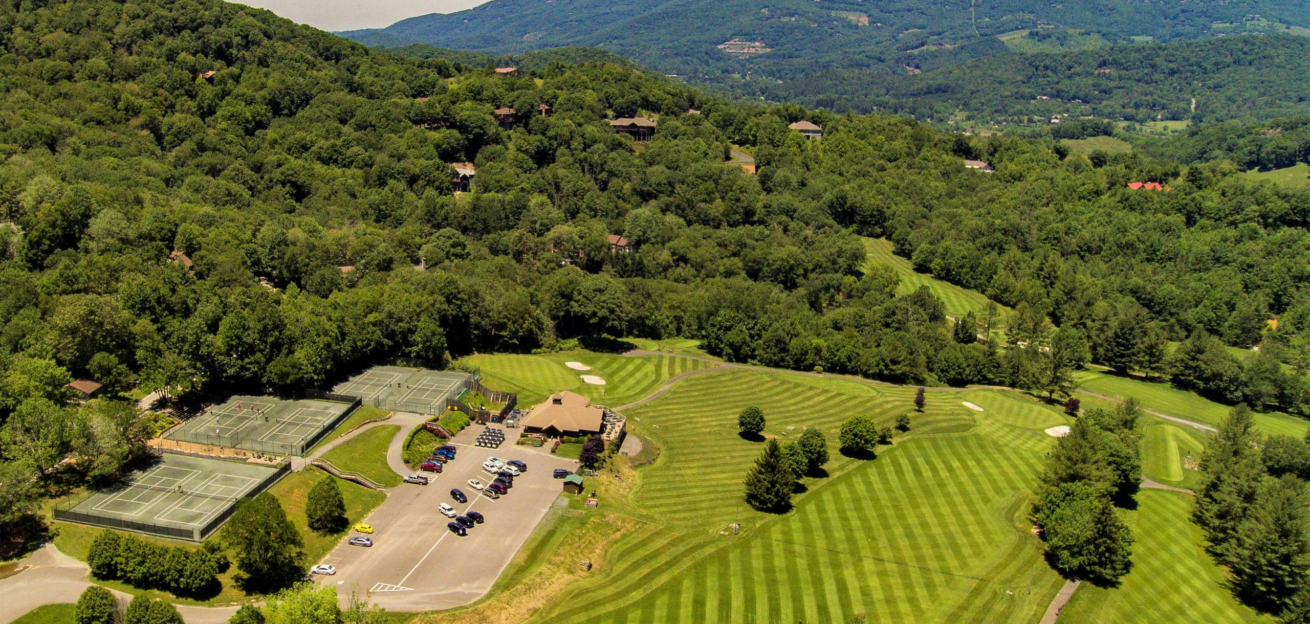 Amazing Golf course right in the middle of Sugar Mountain